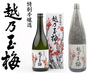 特別本醸造 越乃玉梅